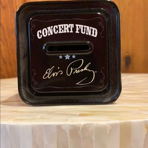 Other Elvis Presley Concert Fund Piggy Bank Tin Poshmark